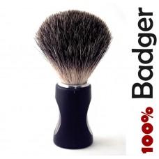 New Shaving Brush Soft 100% Pure Badger Hair Shaving Brush Standard Size Black