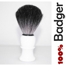 Soft Shaving Brush 100% Pure Badger Hair Shaving Brush Standard Szie White