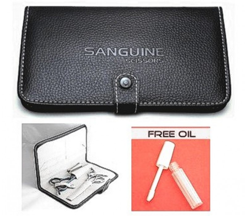 Elegant Scissors Case Razors Safe Carrying Case Black Case for Scissors