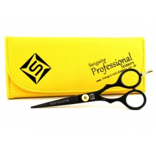 "Small Hair Scissors Hair Trimming Scissors Handy Scissors Black 4.5""  - Case is not included"