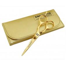 """Elegant Hairdressing Scissors Salon Scissors Golden 5.5"""" in Golden Case"""