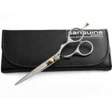 "Professionals Training Scissors Hair Scissors Silver 6""  - Case is not included"