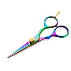 """Titanium Mustache Trimming Scissors Salon Scissors Multicolor 4.5""""  - Case is not included"""