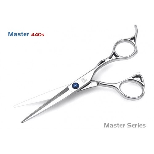 Professional Hair Scissors, Master 440s, Japanese Steel, with Case