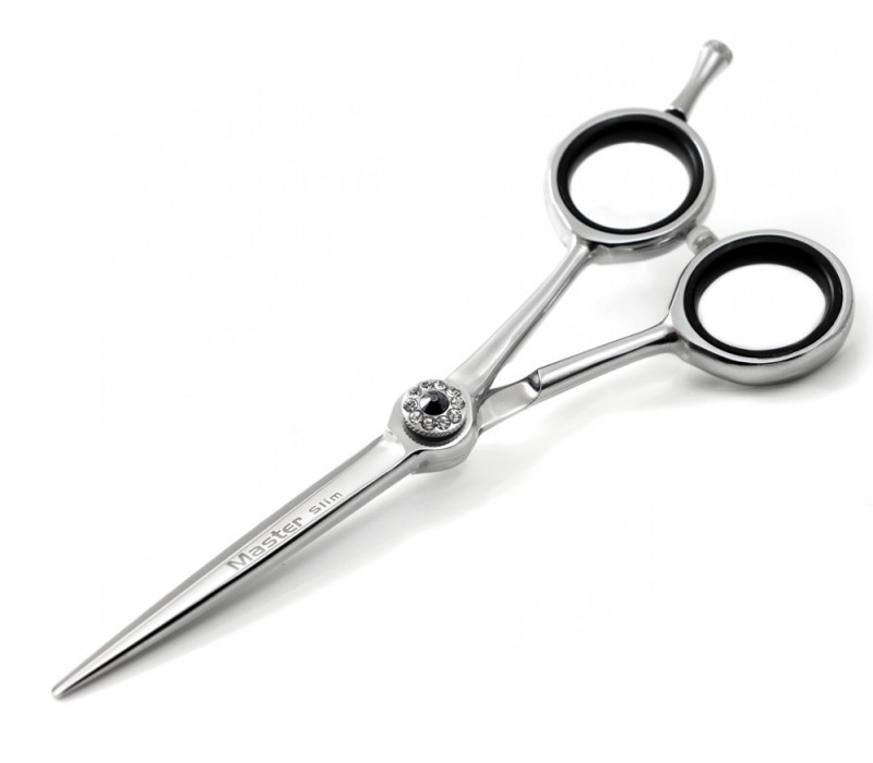 Minimalist Light Weight Master Slim Hair Scissors 5.5 inches (14 cm) with case