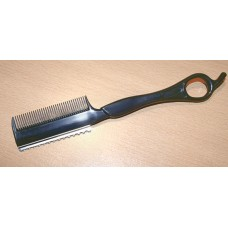 Affordable Beard Hair Styling Razors Disposable Styling Razors Black with Comb