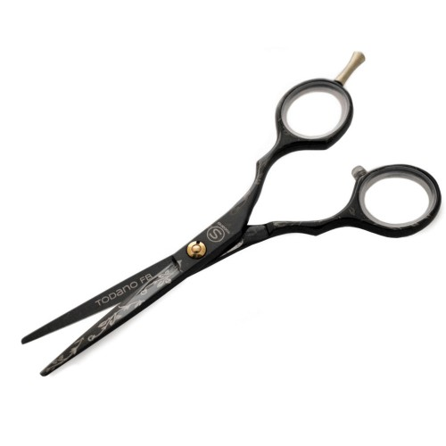 Todano FB Black Professional Hair Scissors with Black Case