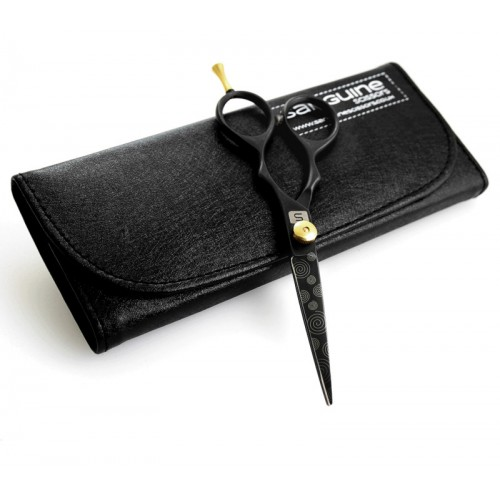 """Stylish Hair Scissors Sharp Haircutting Scissors Black 5.5""""  - Case is not included"""