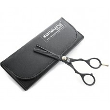 "Hair Thinning Scissors Barber Hair Thinning Scissors Black 5.5""  - Case is not included"
