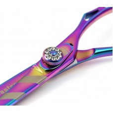 Hair Cutting Scissors Professional Hair Scissors Offset Multicolor 5.5 inches